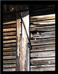Long shadow (Doogal :o) Back in VT) Tags: texture abandoned barn decay rustic rusty nails knots deserted decayed barnwood barnboard