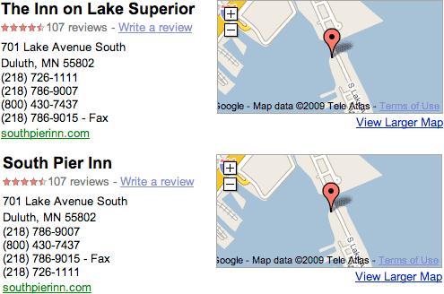 google maps merge