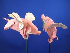 Swine Flew by Joseph Wu Origami