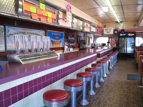 Edgemere Diner Interior