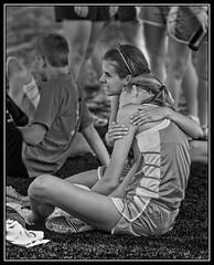 Comfort bw (Silver Image (3M views - Thank You!)) Tags: bw track columbiamissouri rockbridge rbhs