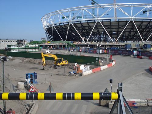 Estadio Olímpico  Londres construcción 2009