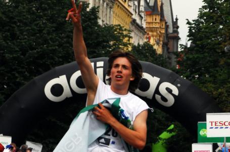 Maraton a týmový duch aneb když běží studenti i učitel