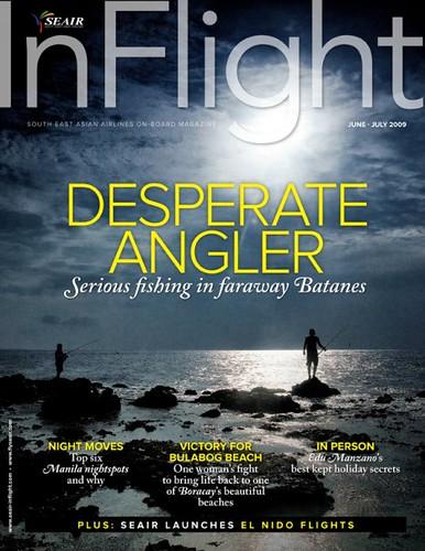 Seair Inflight June-July 2009 Cover