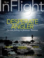 Seair Inflight June-July 2009 Cover by Ferdz Decena