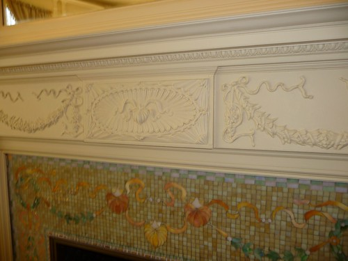 Breakfast Room Mantle Detail