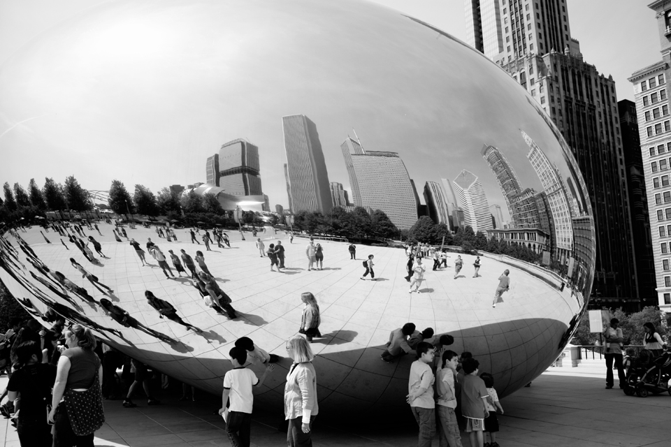 Silver bean/Cloud gate