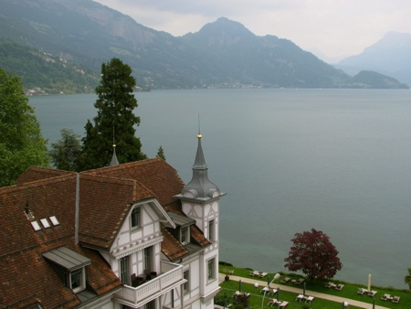 View to Lake Lucerne