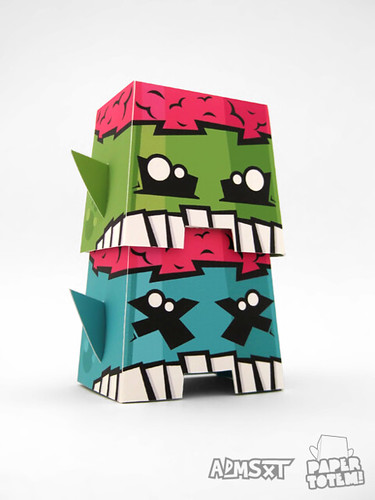Paper Totem! x ADMSXT