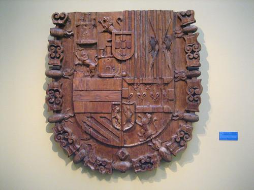 Escudo de la Posada de la Hermandad de Toledo restaurado