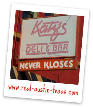 Katz's Deli and Bar in Austin Texas