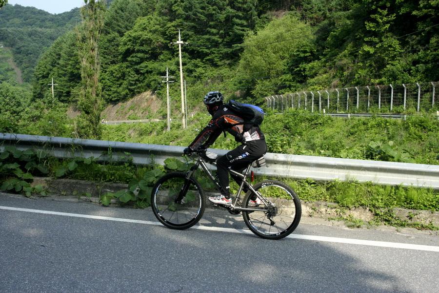 Biker in mountains(2)