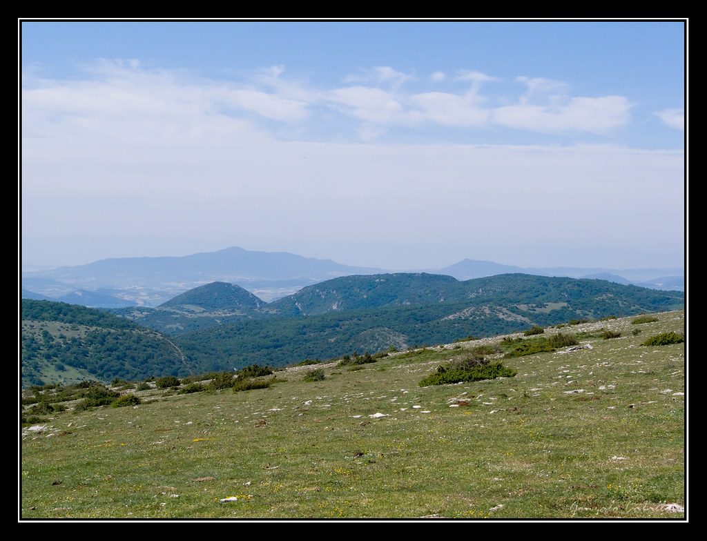 En la cima del Mortxe/Saldise (1123 m.)