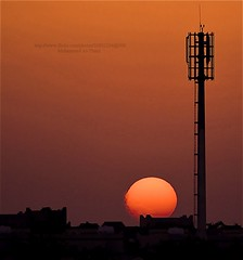 ! ..        (M.AL-Thani .. BRB) Tags: sunset sun set by     malthani