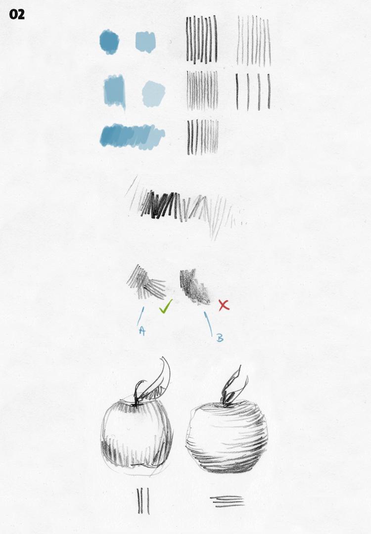 strichführung - zeichnen - 02