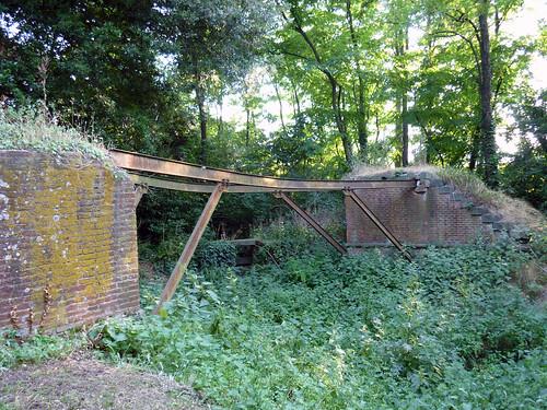 cascine di Tavola_il primo ponte in ferro