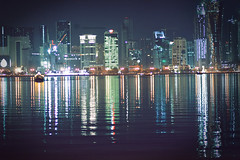 [          ] (Aih.) Tags: sea reflection doha qatar      yalaitelzmnyrja3