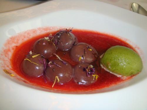 """Sopa y chocolate """"entre viñedos"""""""