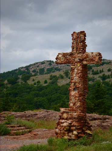 Cross in the Wichitas