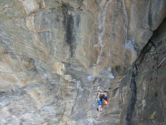 Clare Pitch 1 of Centerfold (5.10a)
