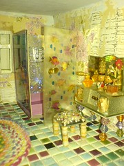 Rebeccy House Bathroom (Rainbow Mermaid) Tags: house miniature doll dolls dolly dollhouse rainbowmermaid