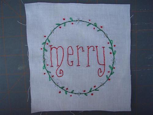 Christmas Wish Block 2 - Merry