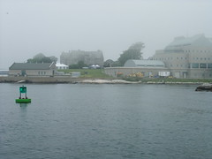 UConn from the water