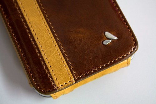 Vaja leather case for iPhone 3GS