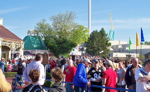 Cedar Point - Opening Day Band