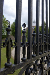 Chilton house gates