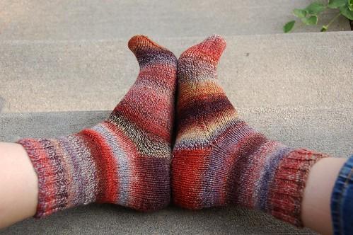 Fat Cat Handspun socks