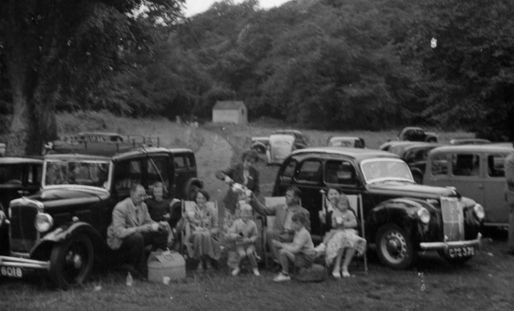 Picnic, Aberdour 1954
