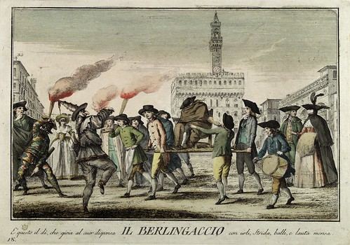 015-El carnaval- Giuochi Trattenimenti e Feste Annue Che si Costumano in Toscana 1790- Giuseppe Piattoli