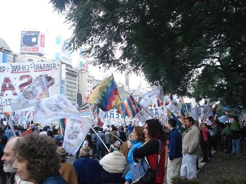 indigenas en plaza de mayo 6