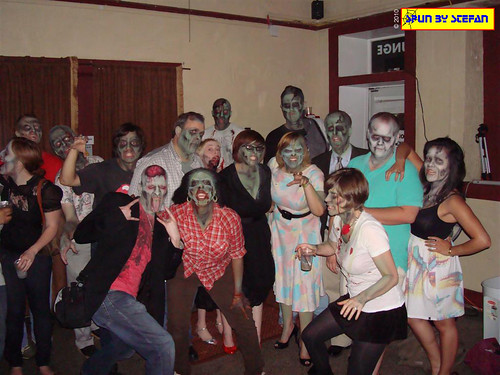 Zombies invade the party