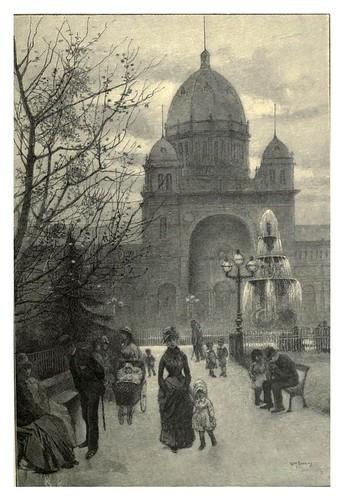 023-Melbourne-Los jardines Carlton-Australasia illustrated (1892)- Andrew Garran