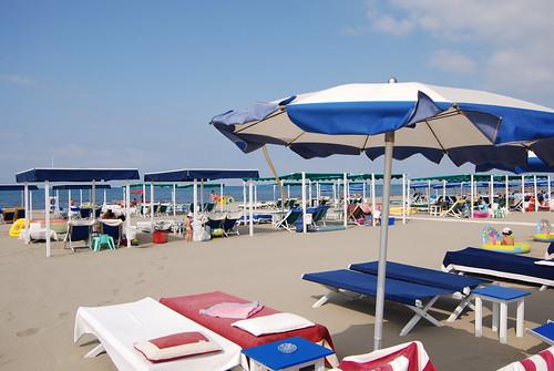 Forte dei Marmi - the beach