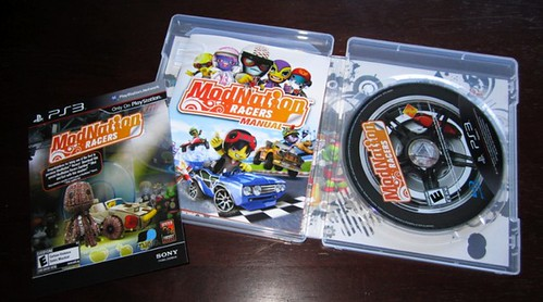 ModNation Racers for PSP: Box Unwrapped