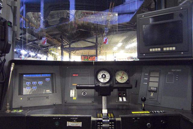 京王電鉄井の頭線1000系1001F クハ1701運転台