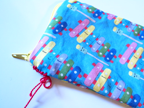 My pouches from My Paper Crane fabric. 3