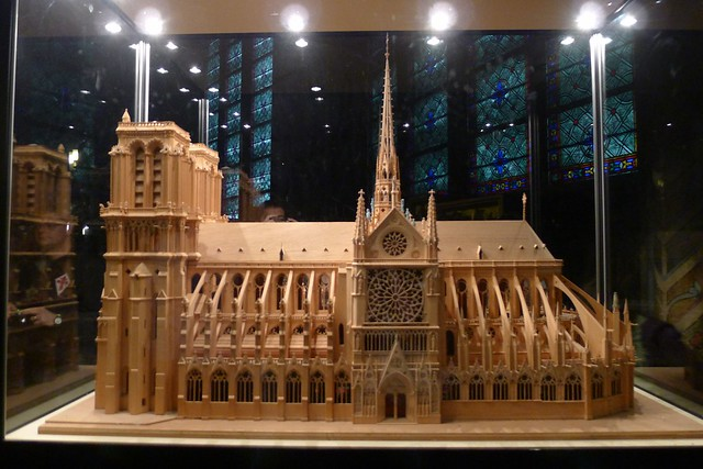 Architectural Model of Notre Dame