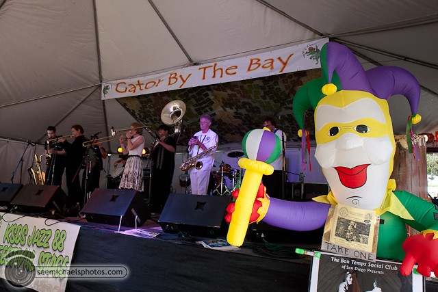 Euphoria Brass Band Show at Gator by the Bay 50811 © Michael Klayman-001
