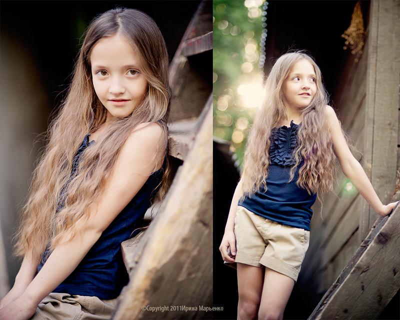 Фотосессия юной модели. Фотограф Ирина Марьенко. Fotostomp.ru
