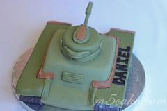 Military Tank Cake - 12