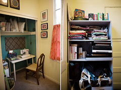 new craft room by jennifer*clare, on Flickr