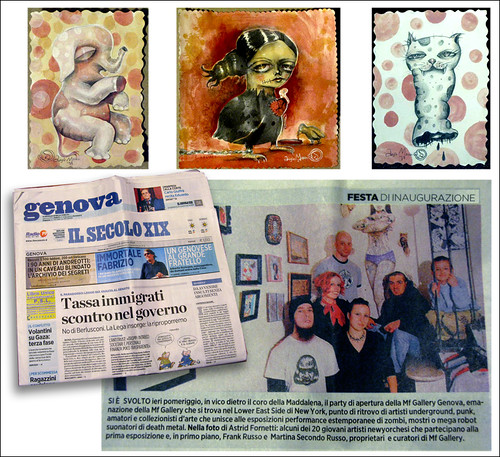 MF GALLERY PRESS Jan. 2009