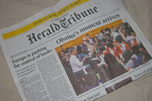Herald Tribune in color....