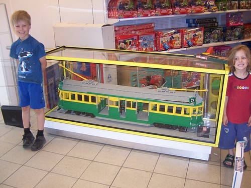 Lego Tram at Myer_7577