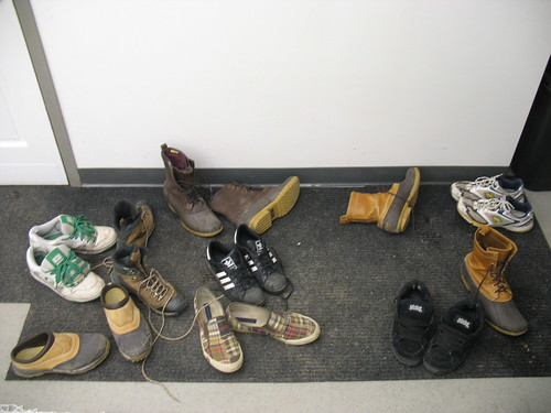 Shoes in the lab