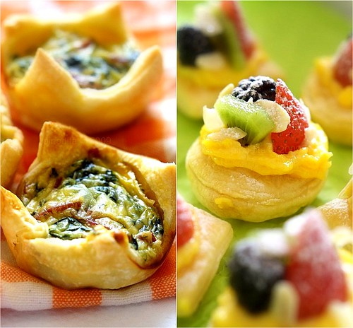 Puff Pastry collage